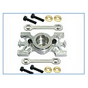 ADJUSTABLE Thriple-Bearing Aluminum Engine Bearing Block - Trex 700